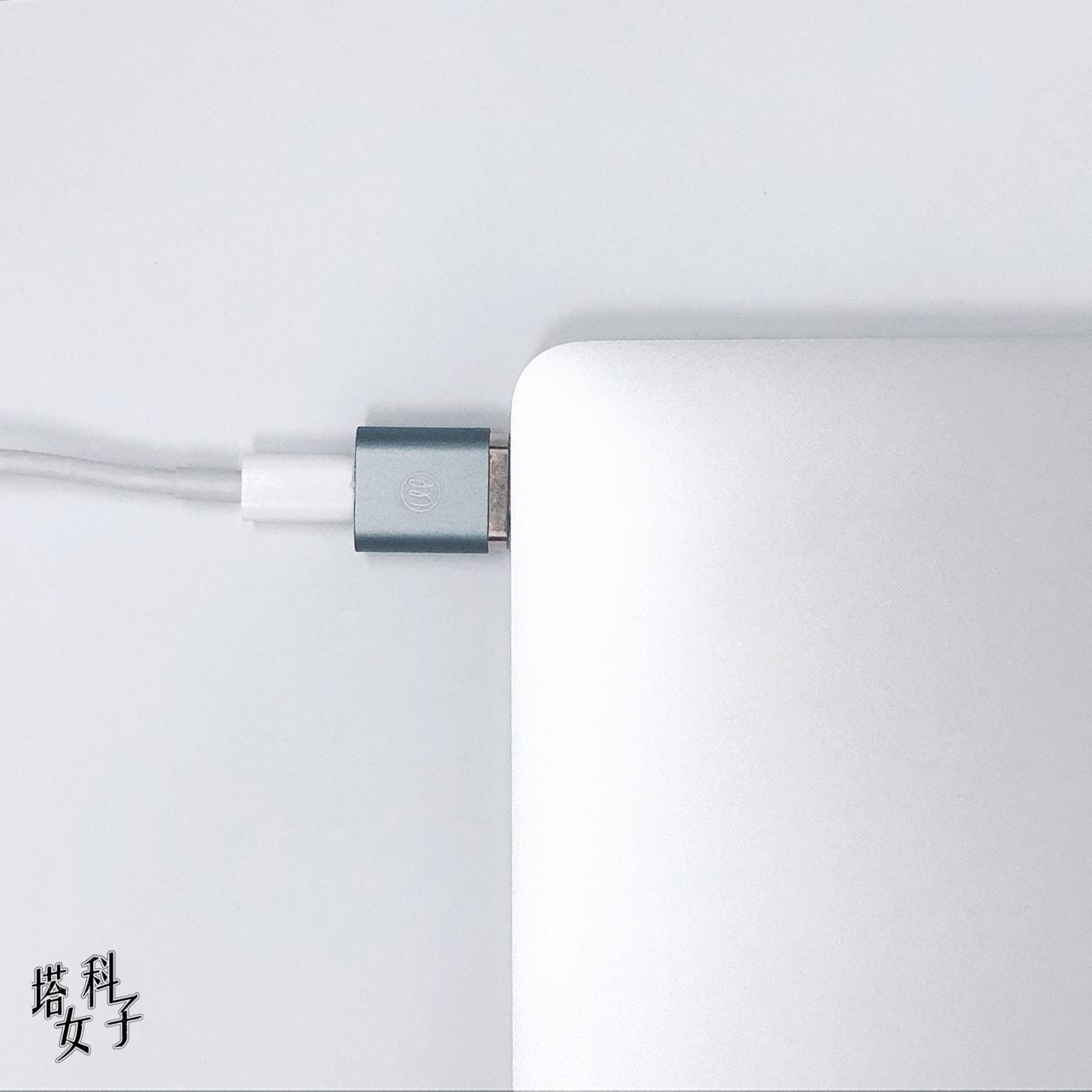 OneMore iEasy USB-C 磁吸轉接頭 MacBook Pro/Air