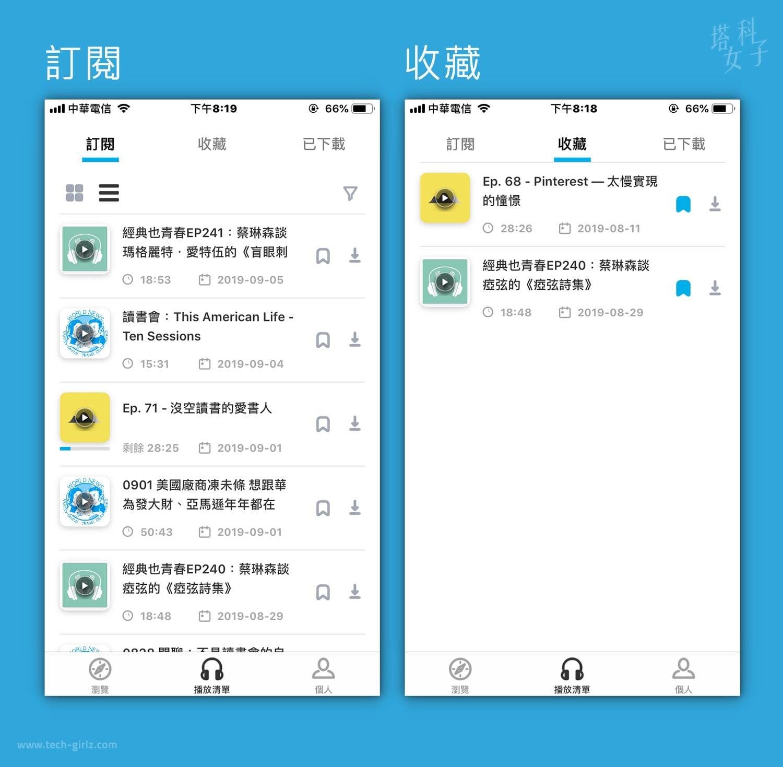 Podcast 中文平台 - SoundOn 聲浪 : 訂閱及收藏