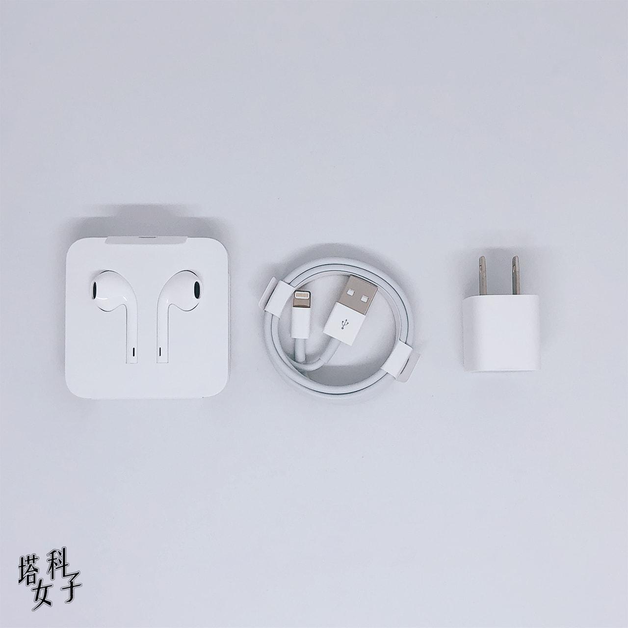 iPhone 11 紫色 開箱評測 - 內容物