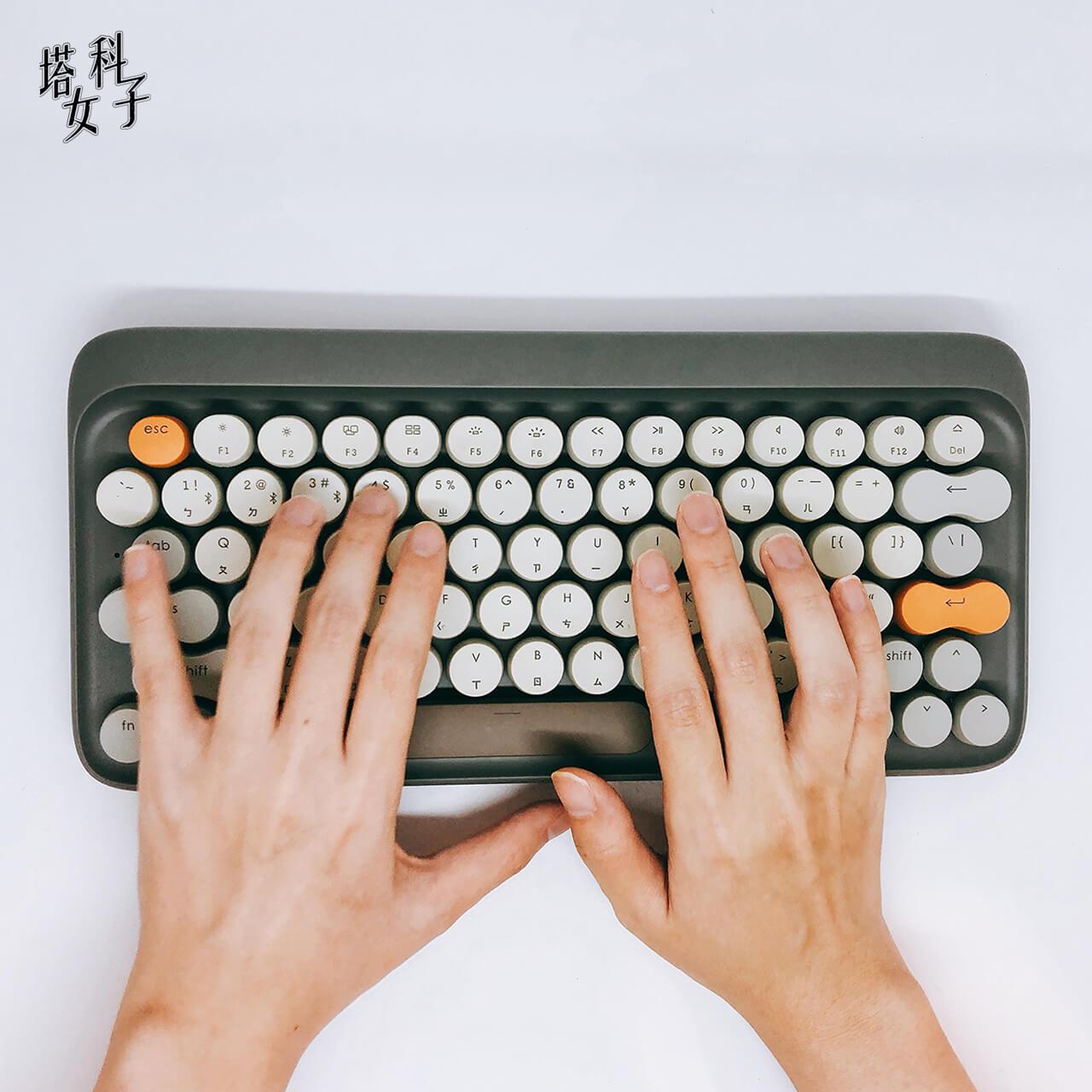 打字機鍵盤 Lofree