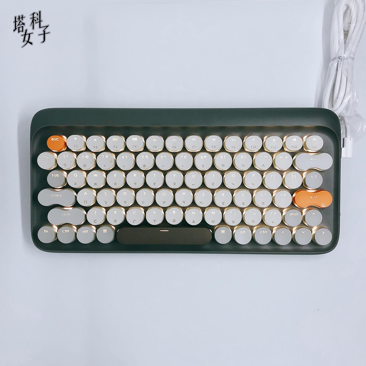 Lofree 打字機鍵盤 - 三段 LED 背光