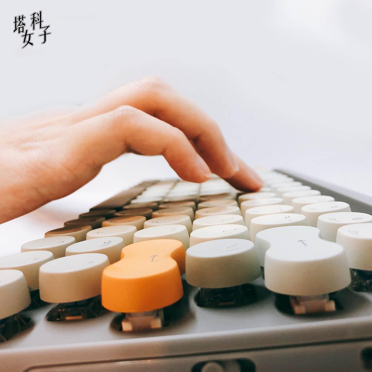 Lofree 打字機鍵盤推薦