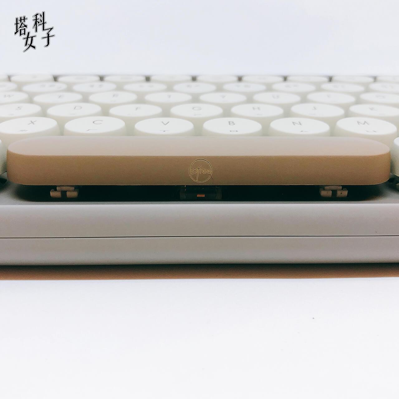 打字機鍵盤 Lofree - 青軸