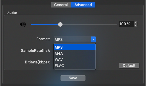 Mac 下載 Spotify 歌曲,TuneFab Spotify 音樂轉檔器 - 選擇檔案格式