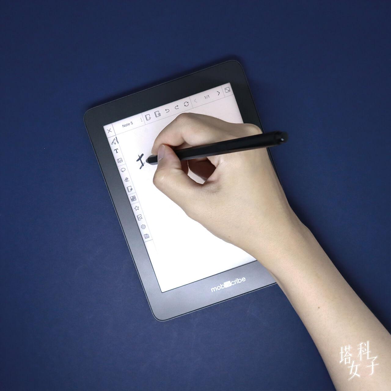 Mobiscribe 電子筆記本/閱讀器 手寫體驗