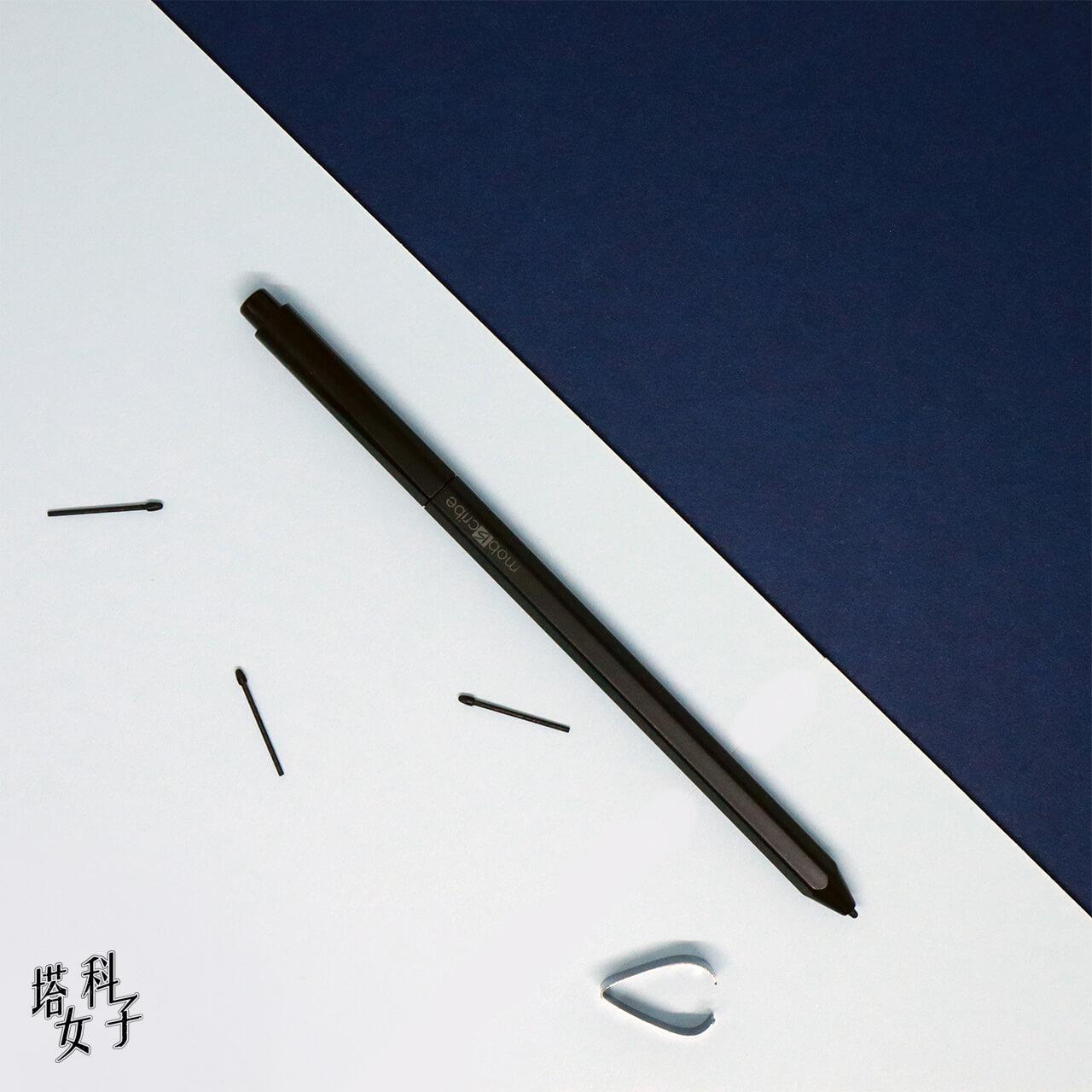 Mobiscribe 電子筆記本+閱讀器 開箱評測 觸控筆