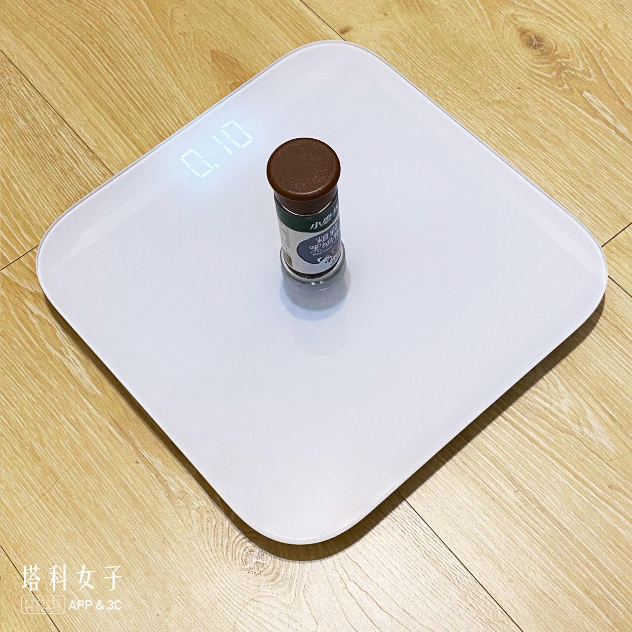 小米體重計2 開箱 秤物模式