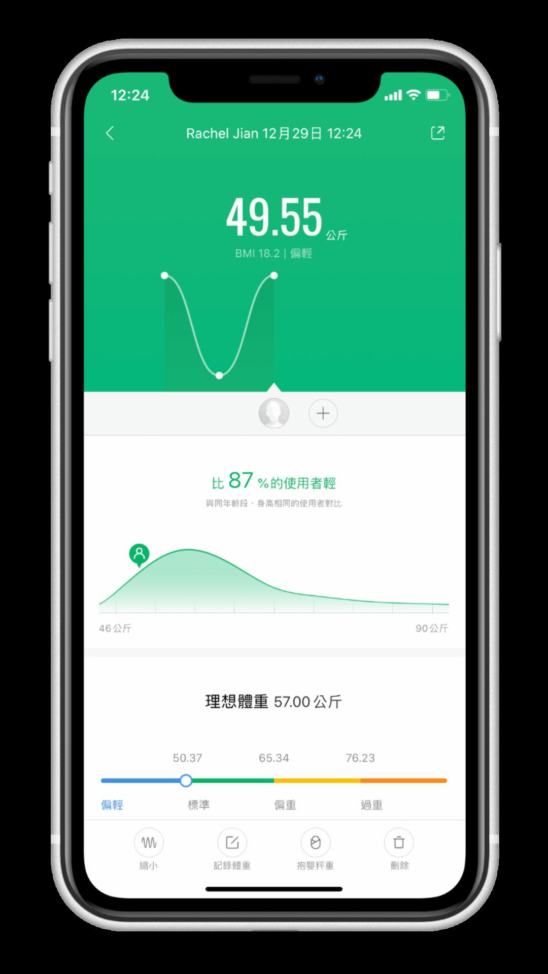 小米體重計2 開箱 小米運動 App