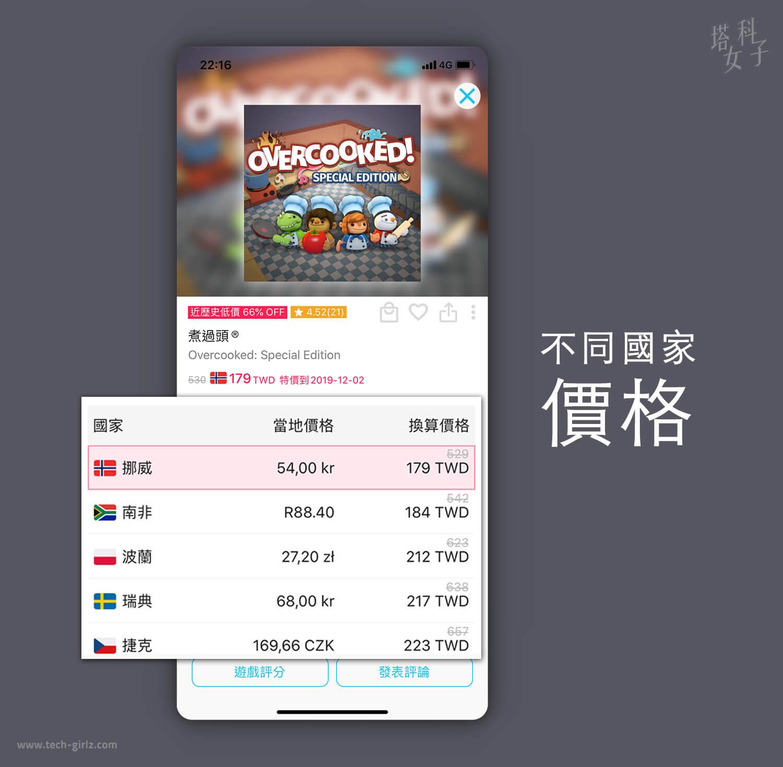 遊戲箱子 APP,Switch 遊戲最划算的價格