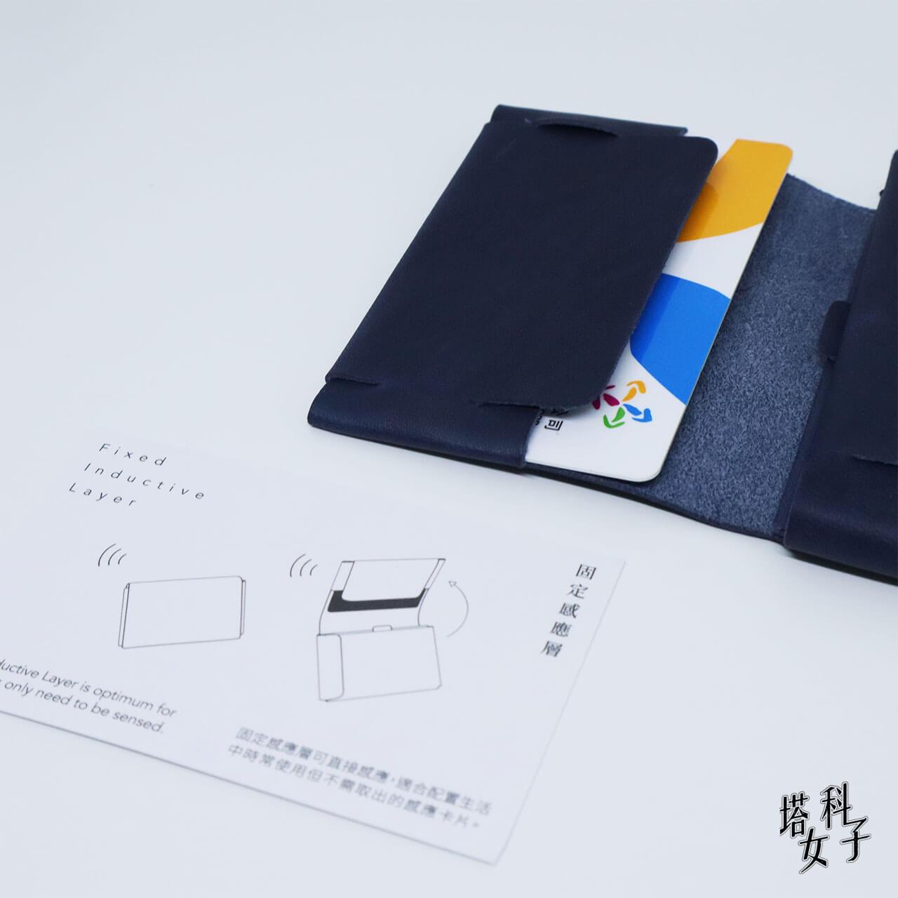 0.7 Wallet 雙面感應卡夾 固定感應層
