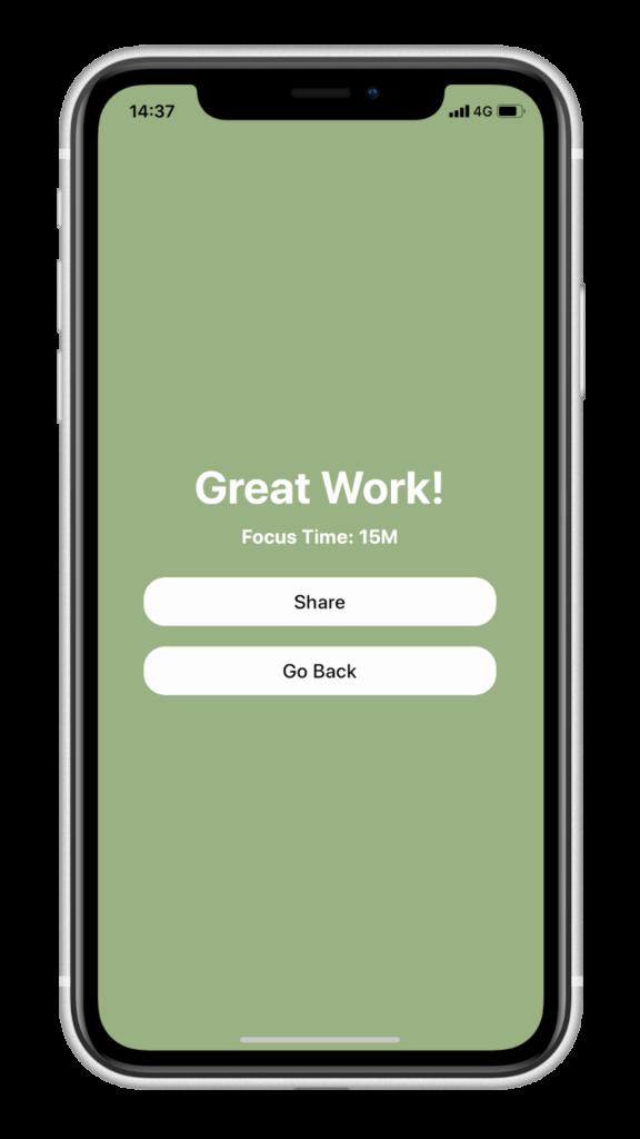 極簡美觀的讀書計時 App - Focusi,倒數計時時鐘