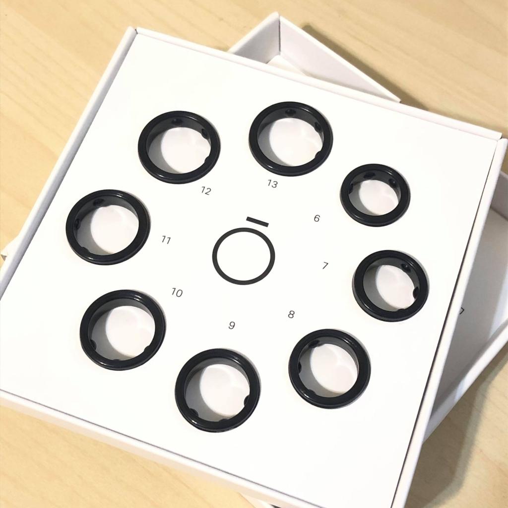 智慧戒指 Oura Ring 開箱|追蹤睡眠品質與身體數據 - 戒指尺寸