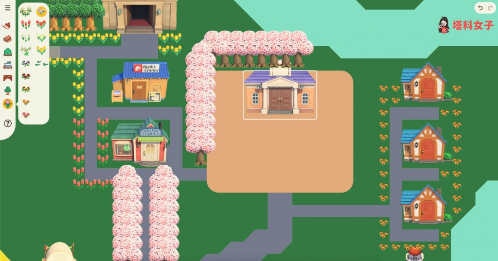 抓包工具_動森島嶼規劃工具,用這網站先設計你的無人島吧! - 塔科女子
