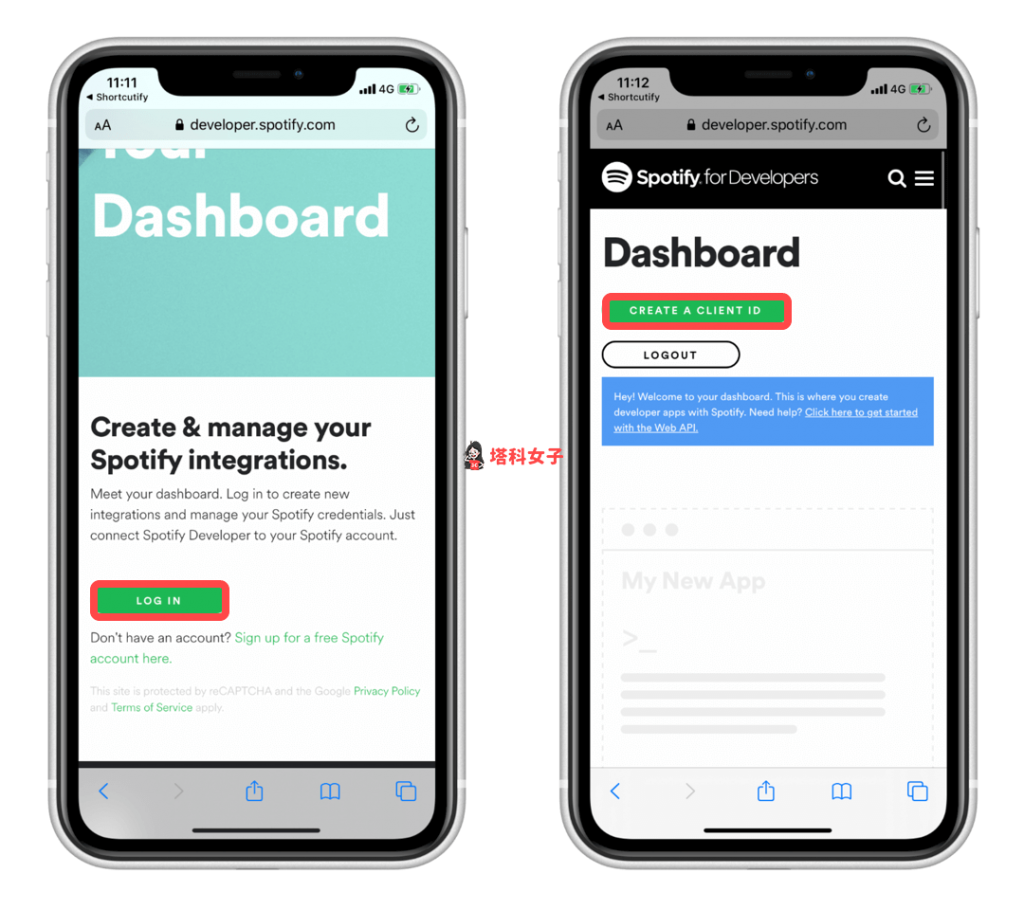 iOS 個人自動化教學 #3 自動播放 Spotify 音樂 - 取得 Spotify Client ID