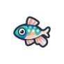 動物森友會魚類懶人包 溪哥