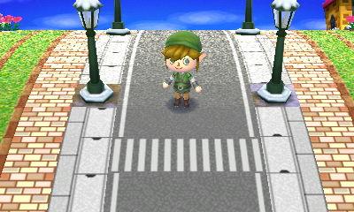 動森地板 QR Code 及作品 ID:馬路