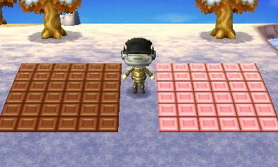 動物森友會|網友建造的超酷無人島 參考設計 - 巧克力